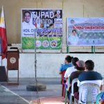 TUPAD beneficiaries orientation for April 2021